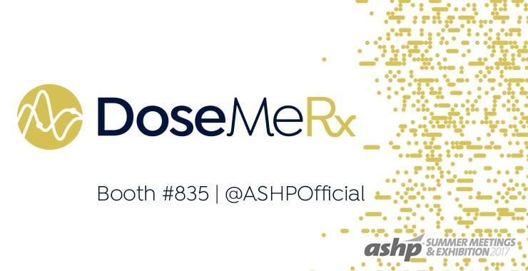 DoseMeRX ASHP Summer Debut