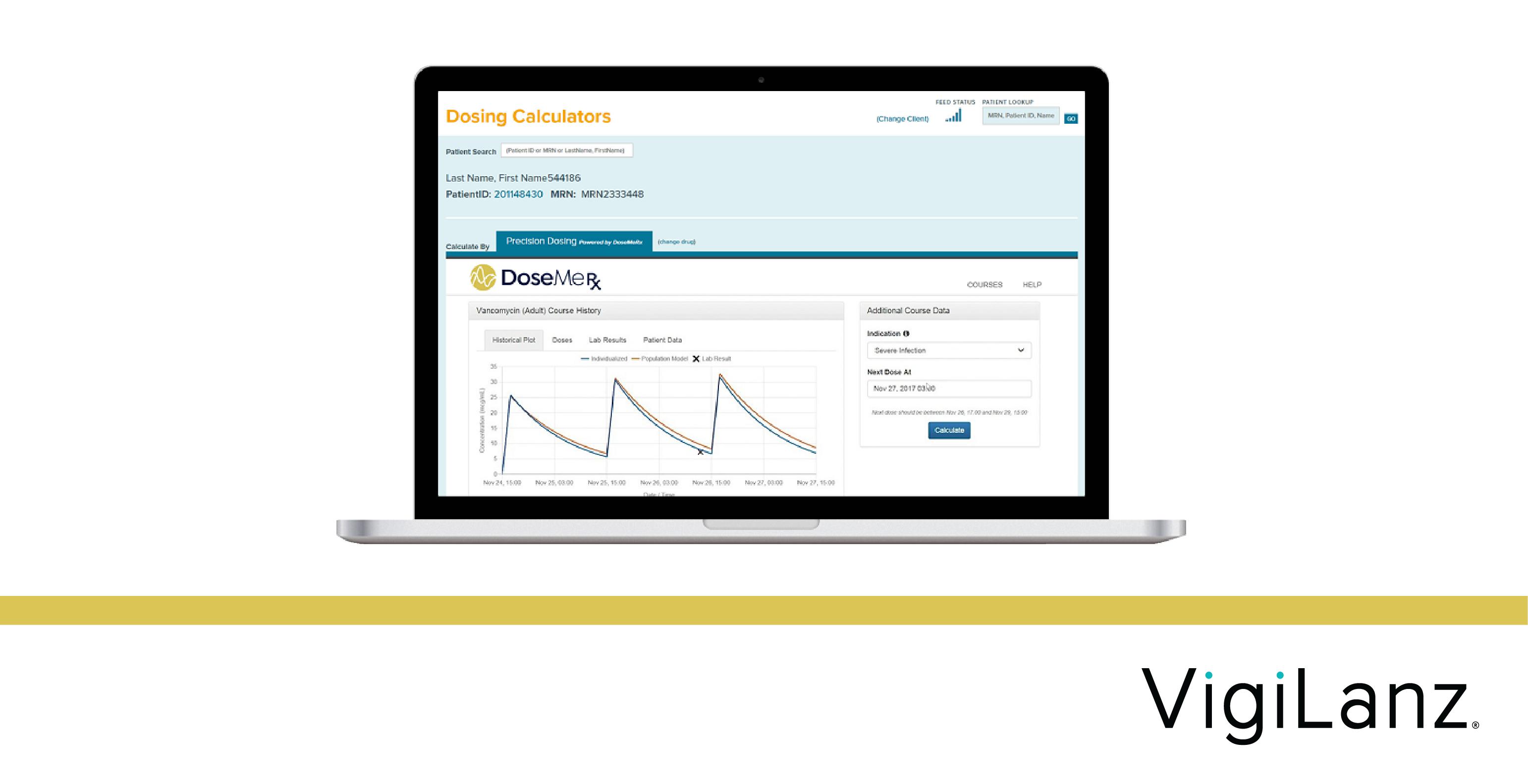 Tabula Rasa Healthcare Announces VigiLanz Precision Dosing Powered by DoseMeRx